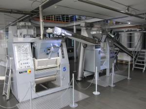 Gläserne Produktion im Kölner Schokoladenmuseum