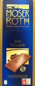 Moser Roth Edel Vollmilch 32%: Voderseite