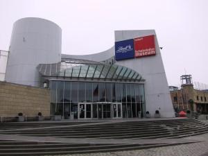 Eingang des Kölner Schokoladenmuseums