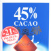 Lindt Excellence 45% Milch Chocolade