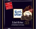 100g-Tafel Ritter Sport Edel-Bitter