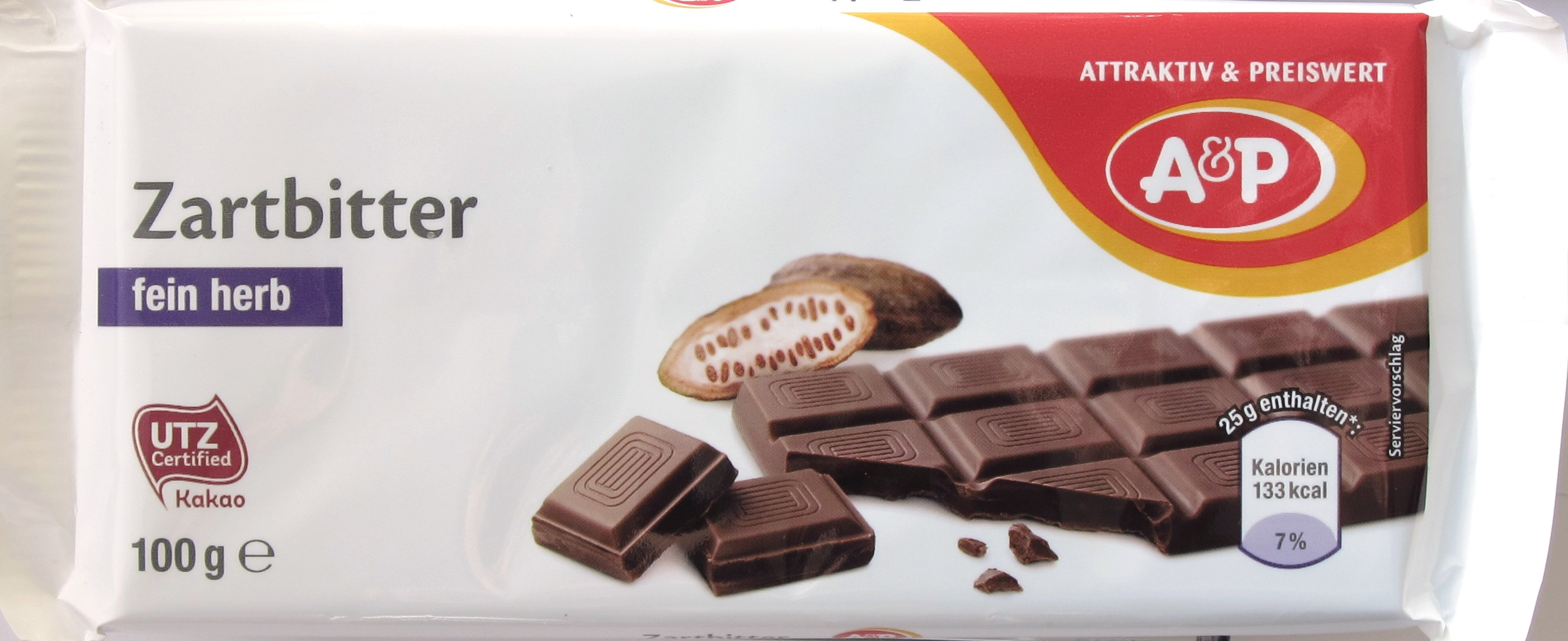A&P Schokolade 50%