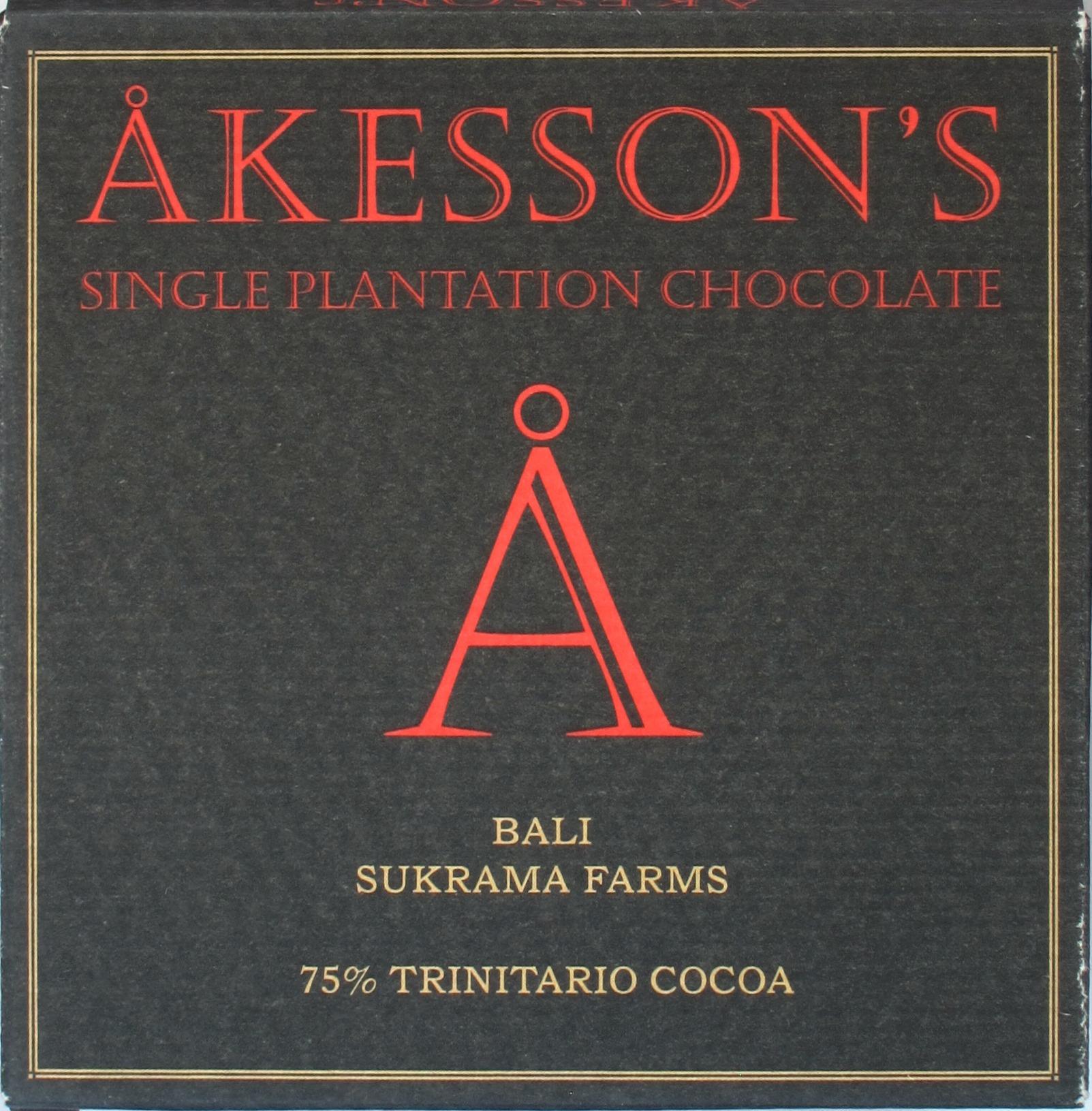 Åkesson Bali Sukrama Farms 75% Trinitario