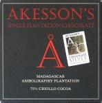 Åkesson's Criollo-Bitterschokolade, 75%