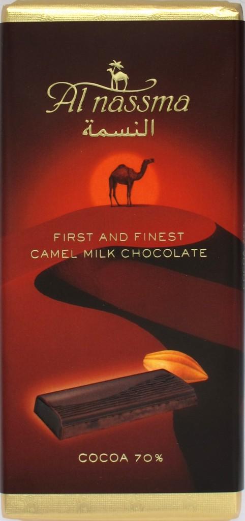 Al Nassma Bitterschokolade 70% mit Kamelmilch