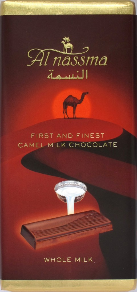 "Al Nassma-Milchschokolade ""Kamel"" 36%"