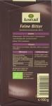 Packungsrückseite, Alnatura, 70%-Schokolade