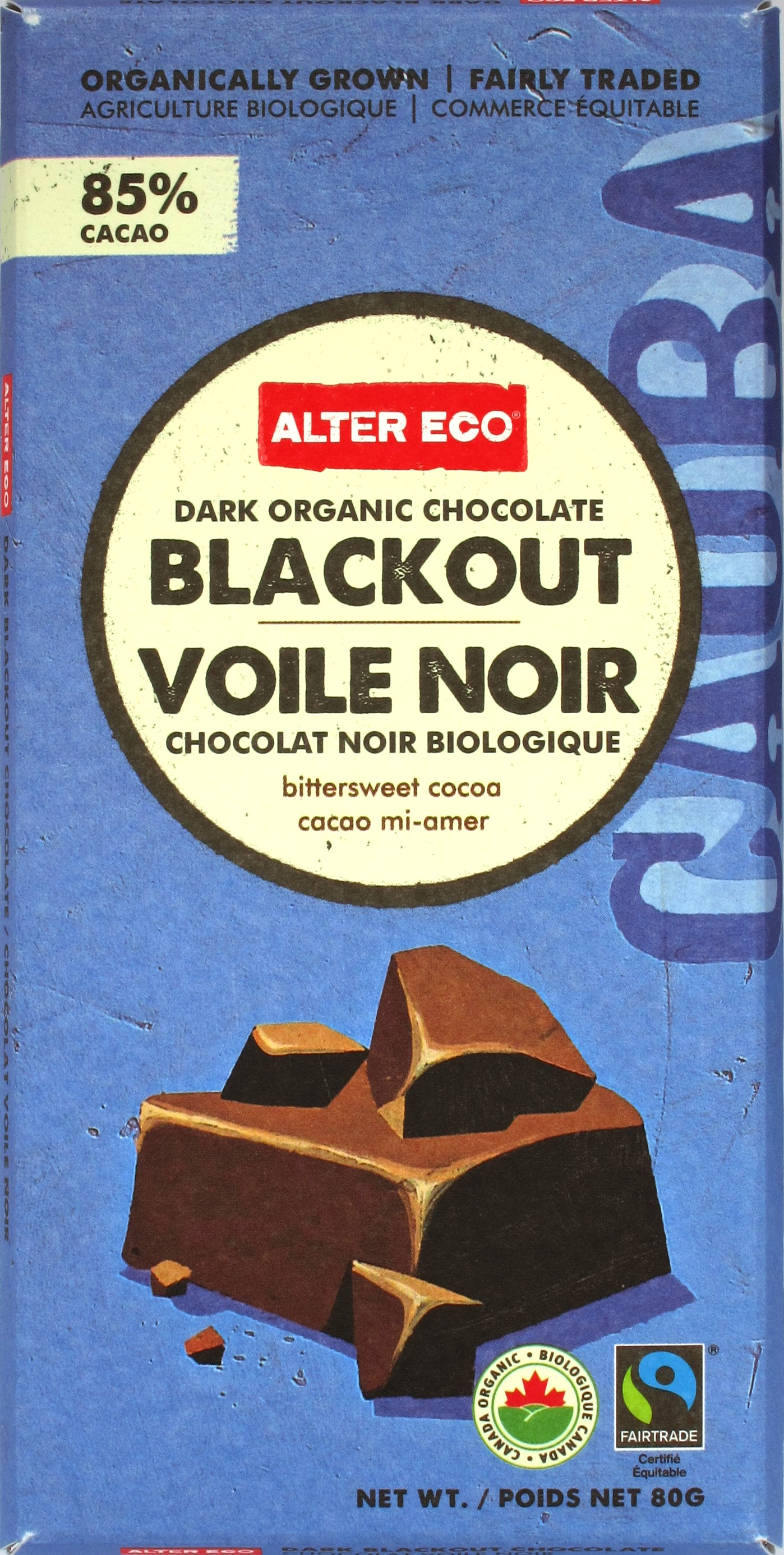 Alter Eco Bio-Fairtrade-Schokolade 85%
