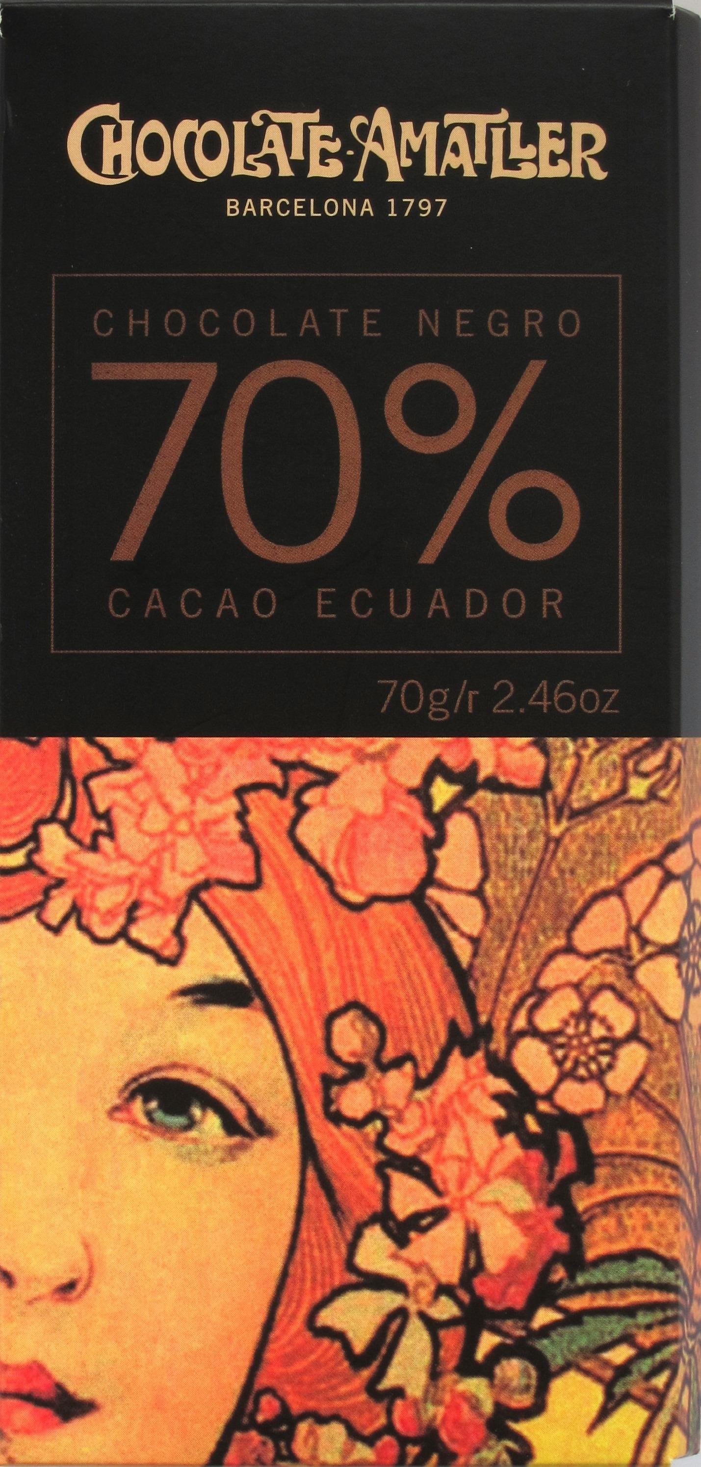 Amatller-Bitterschokolade 70% Ecuador