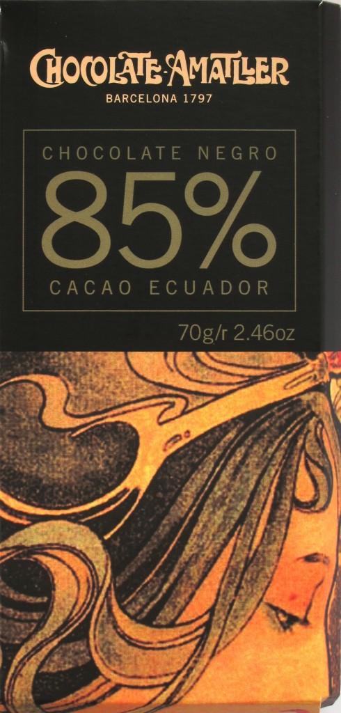 Amatller Bitterschokolade Ecuador 85%