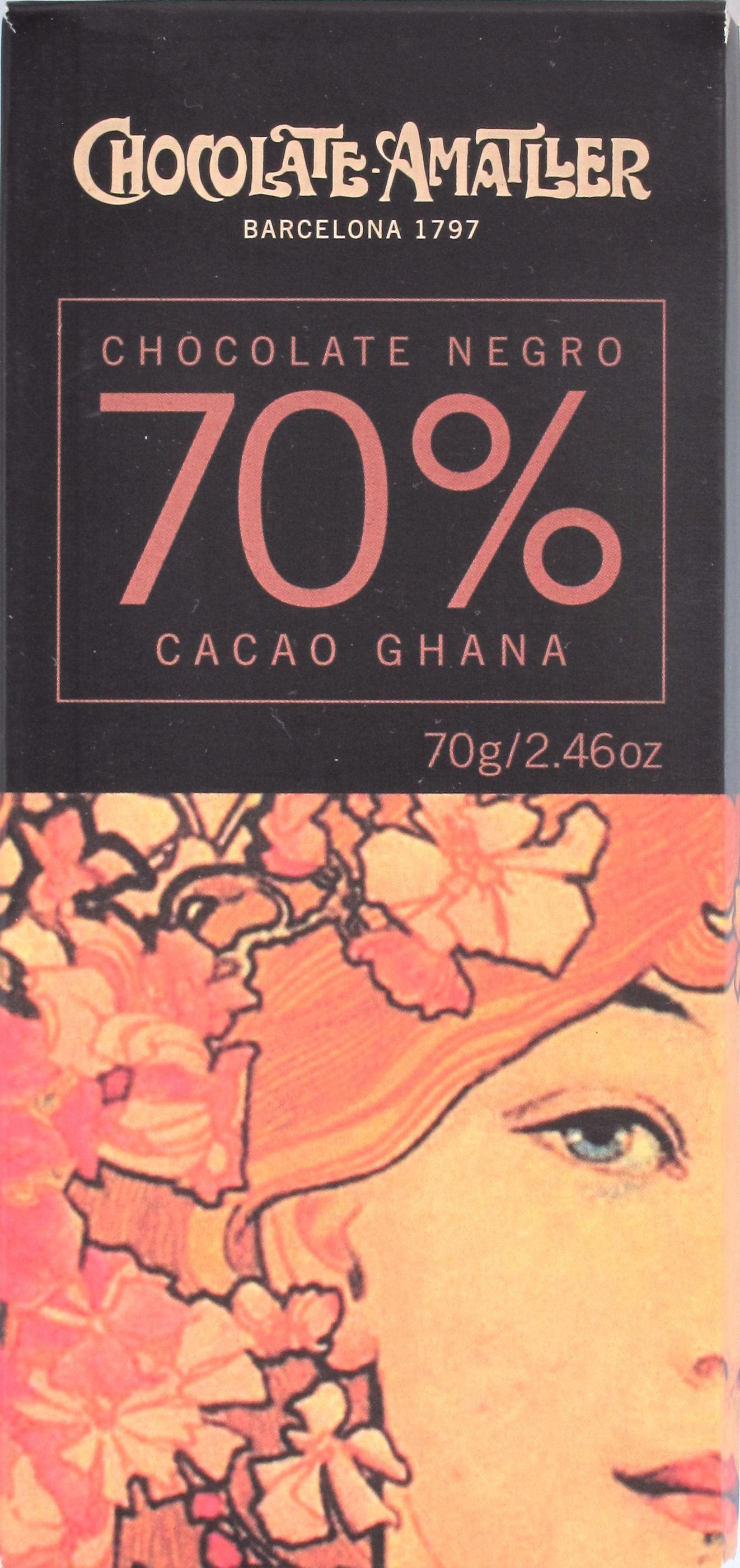 Amatller, Packung, Ghana, 70%