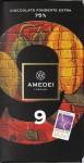Amedei 9 Verpackung - Vorderseite