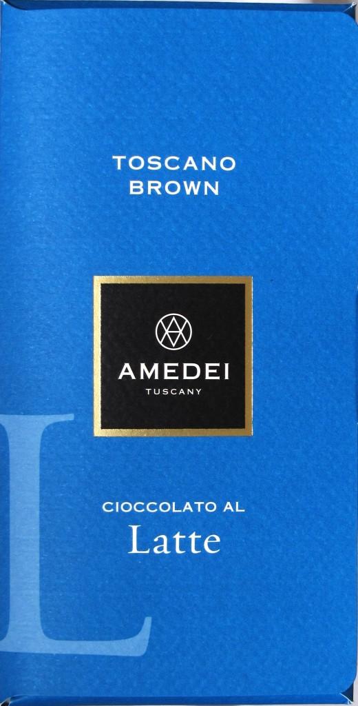Amedei Toscano Brown Latte
