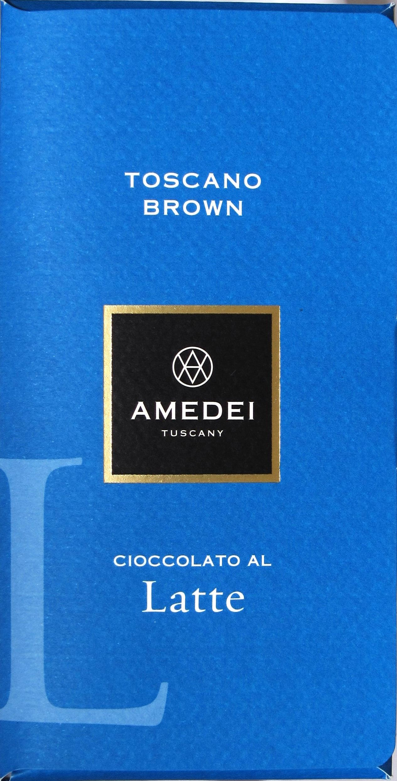Amedei Toscano Brown Latte