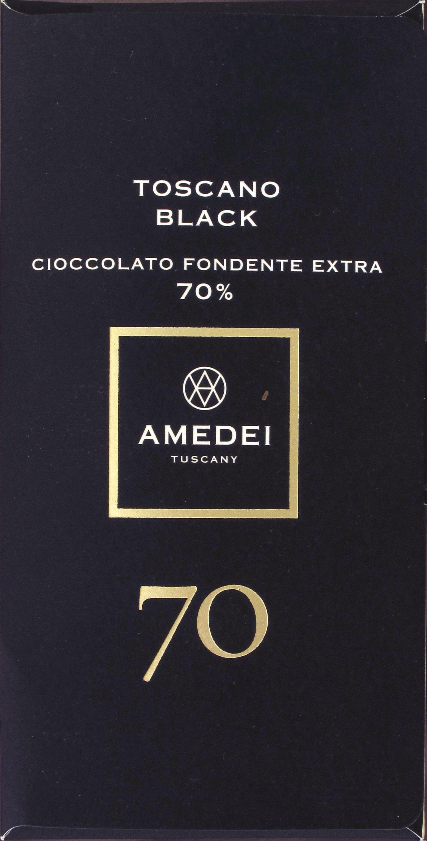 Amedei Toscano Black 70, 70%ige Dunkle Schokolade