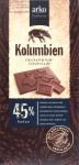 "Arko-Schokolade ""Kolumbien"" 45%"