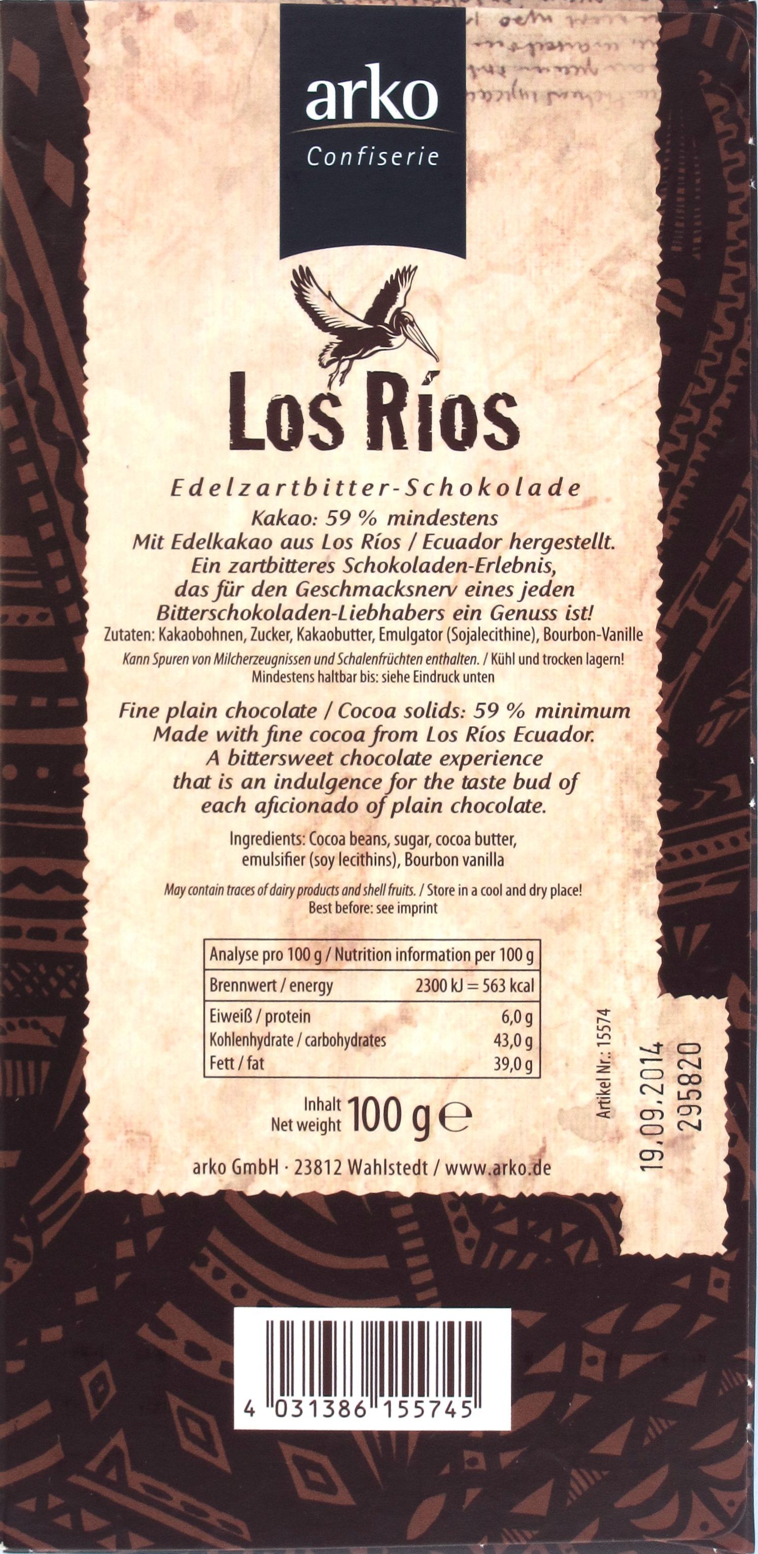 Inhaltsangaben: Arko Los Ríos