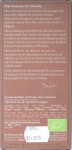 100%-Bitterschokolade von Benoit Nihant, Rückseite