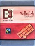 """Vorne: BioArt """"Vollmilch"""""""