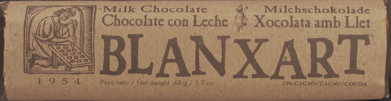 Blanxart Milchschokolade 33%