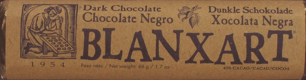 Blanxart-48g-Riegel Chocolate Negro 65%
