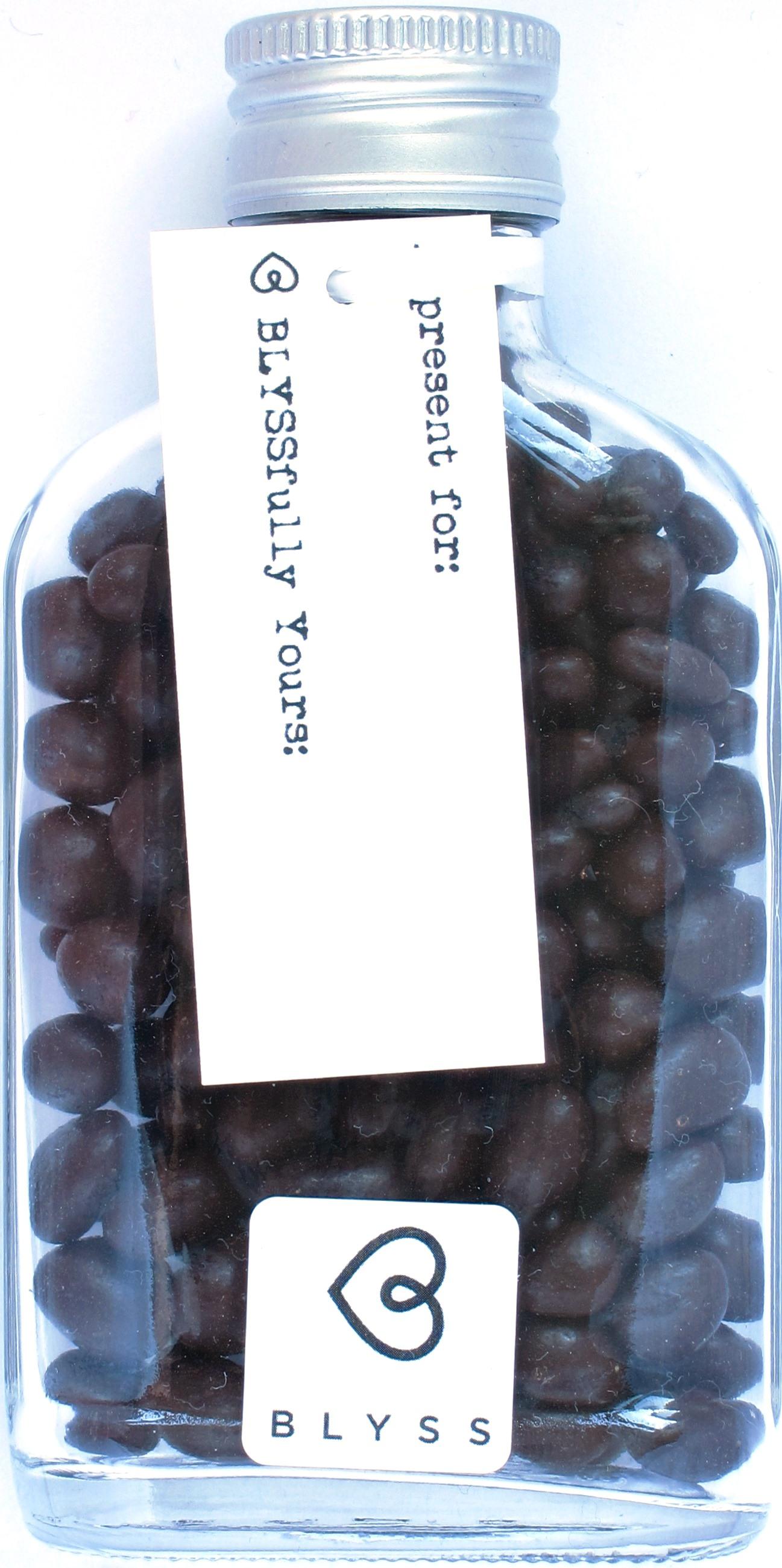 Blyss Geschenkflasche: Schokolade mit Beeren