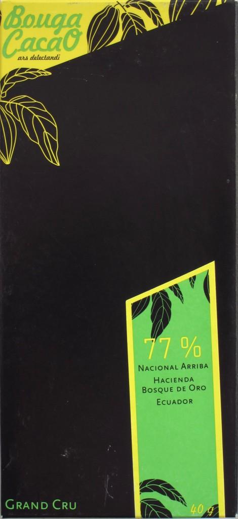 77%ige Ecuador-Schokolade von Bouga CacaO