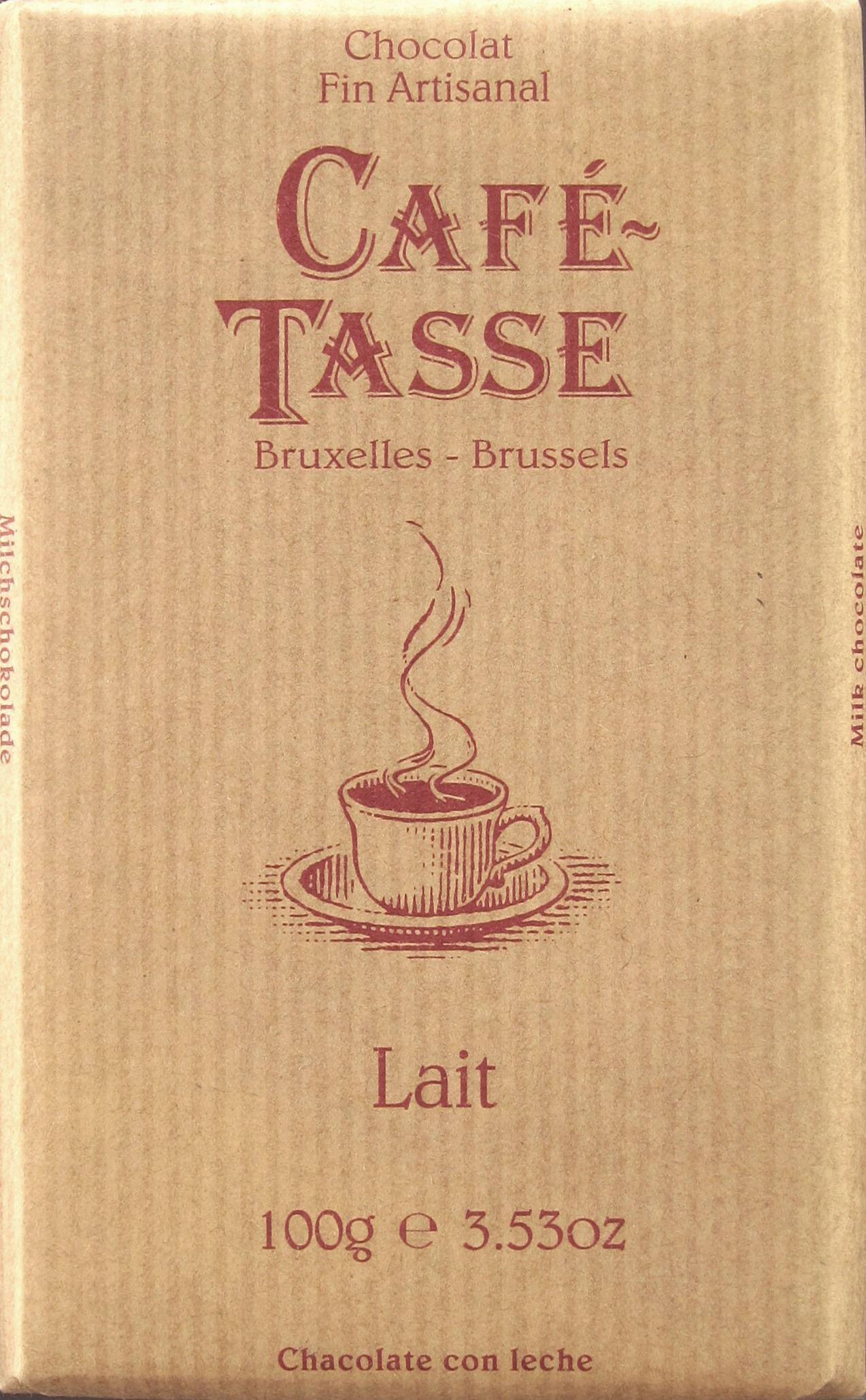 Milchschokoladentafel Café-Tasse Lait 28%