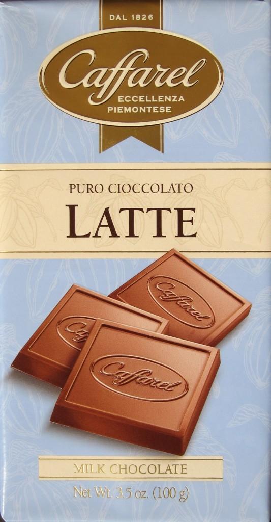 Verpackung der Caffarel Puro Cioccolato Latte Milchschokolade