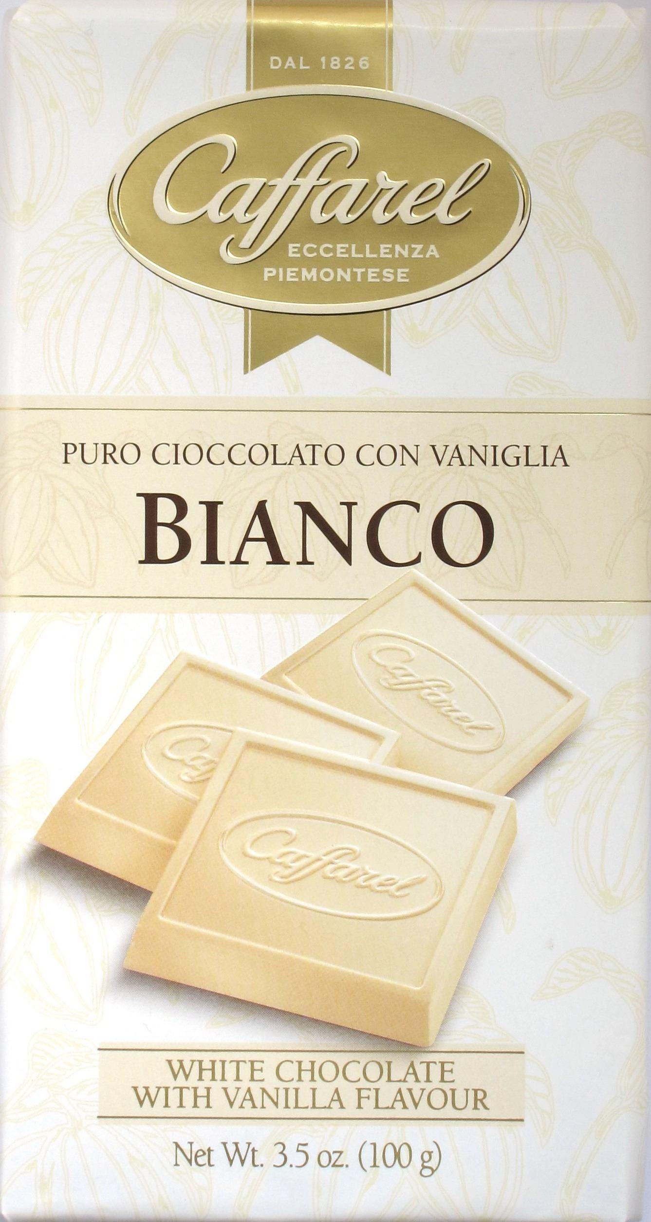 Caffarel Weiße Schokolade (Cover)