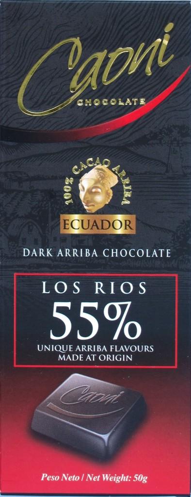 Caoni 55% Los Rios, Vorderseite