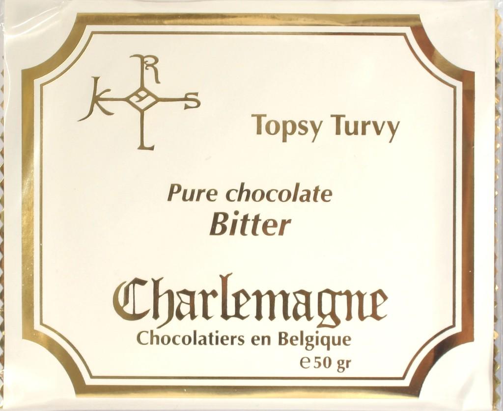 Packung Charlemagne Schokolade Bitter