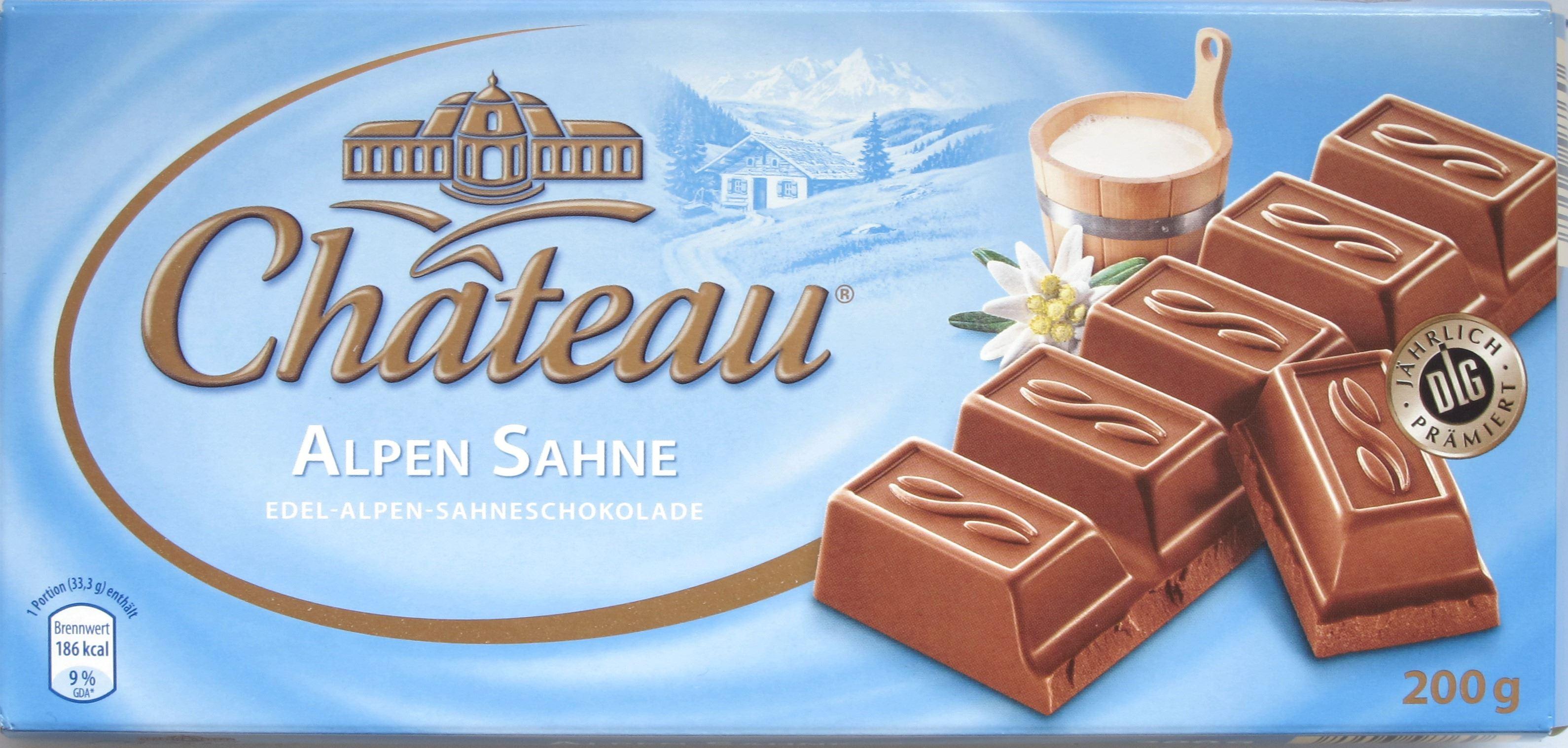 Aldi-Alpenmilchschokolade