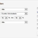 Chclt.net Schokoladen-Datenbank