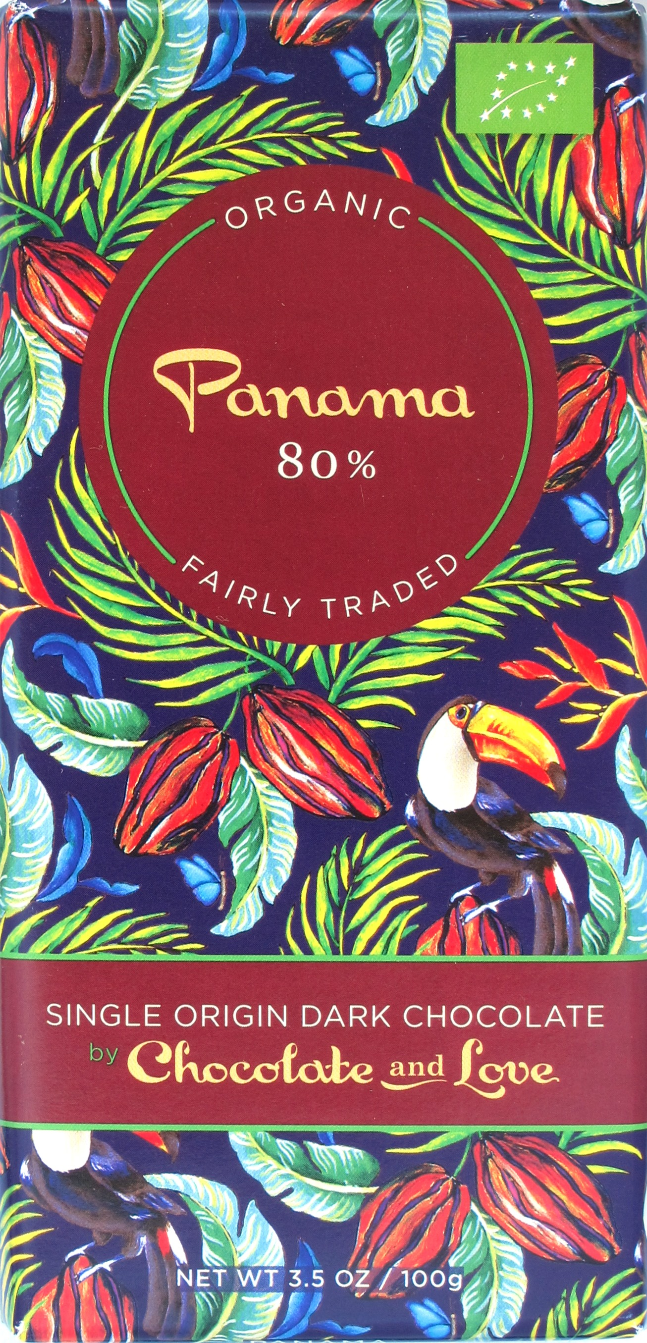 Chocolate and Love 80% Panama-Bitterschokolade