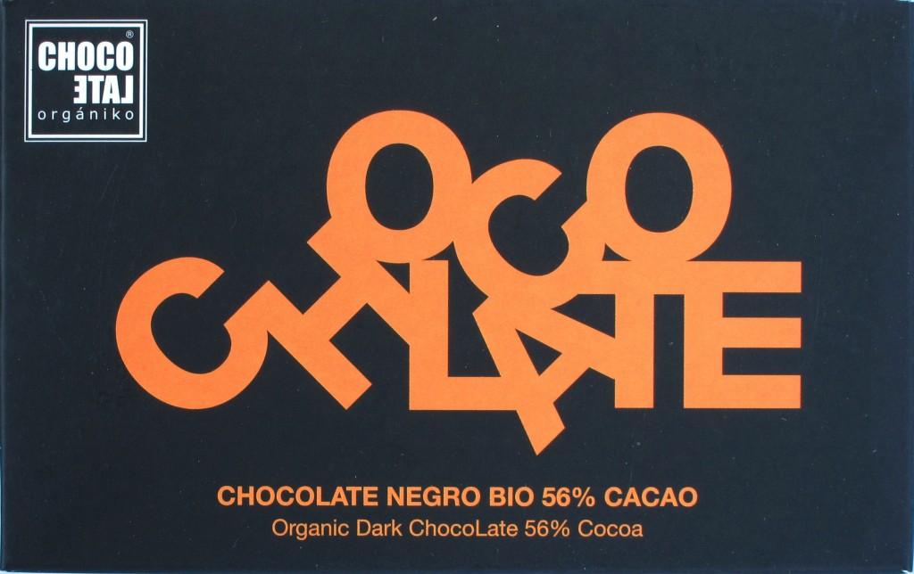Bitterschokolade ChocoLate Orgániko 56%