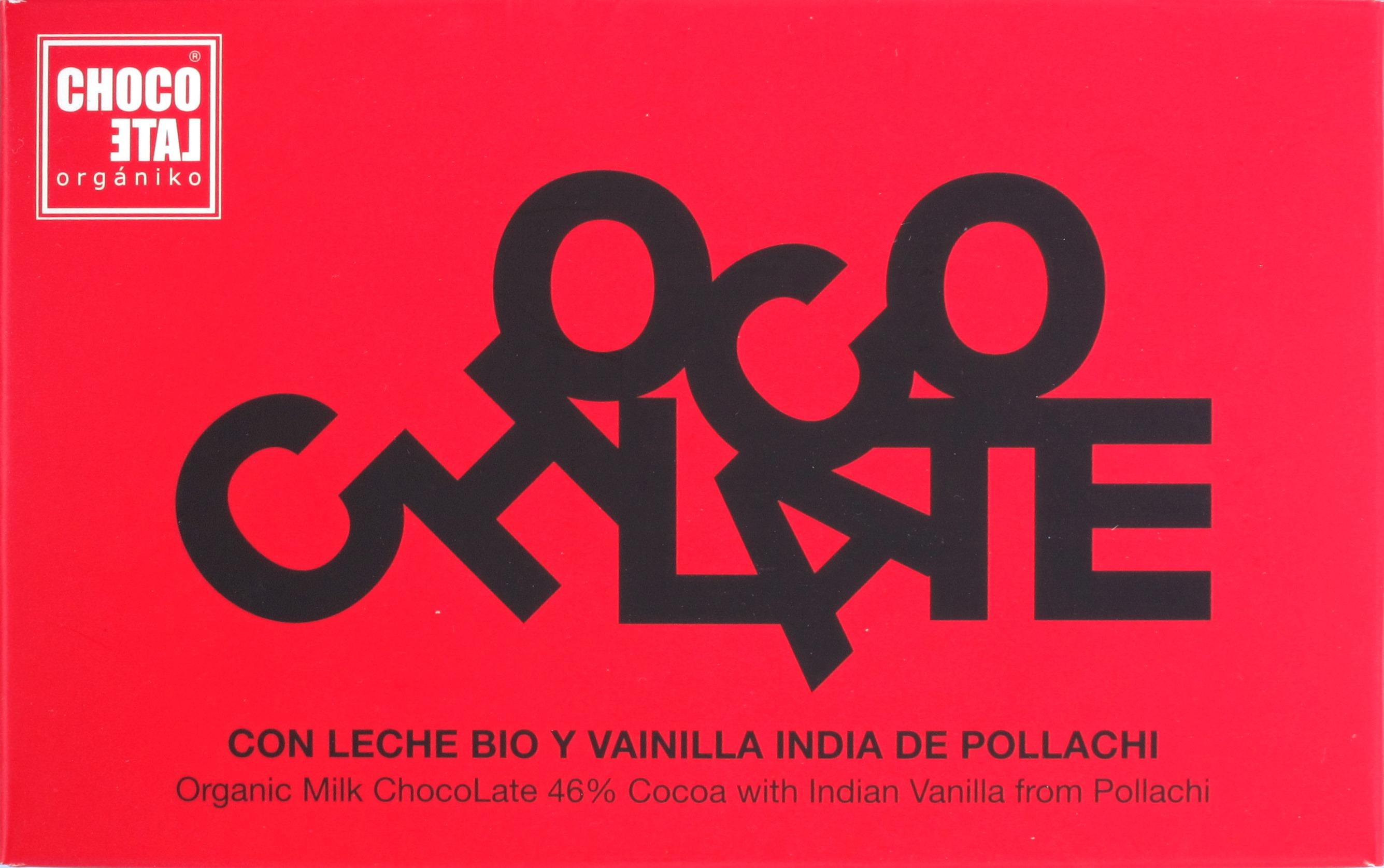 Vorderseite: Chocolate Organiko Milch & Vanille