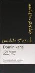 """Vorderseite """"Chocolate Story"""" aus der Dominikanischen Republik"""