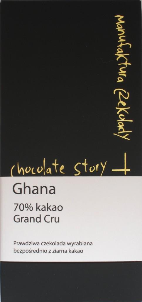 Packung, Manufaktura Czekolady, 70% Ghana