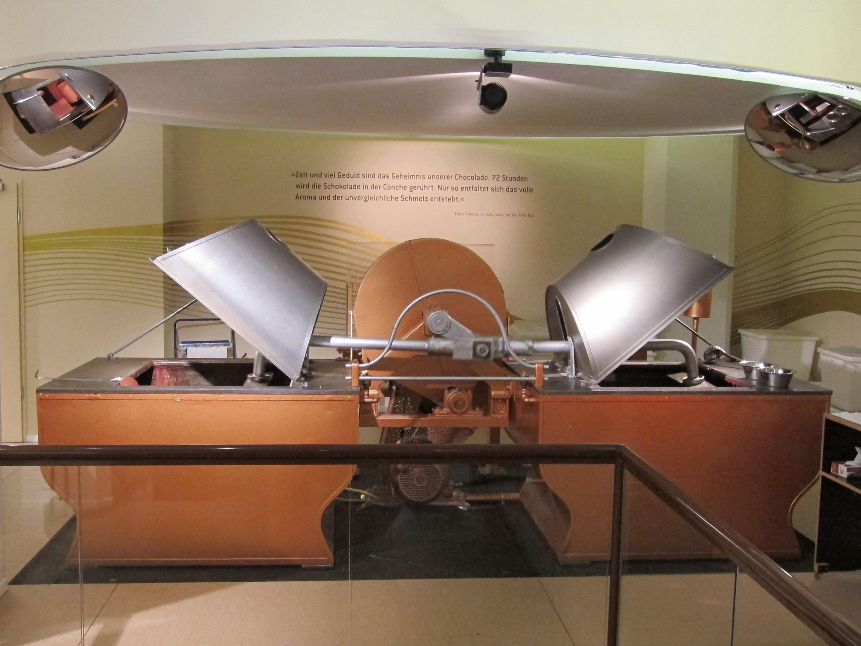 Hachez-Conche im Hamburger Schokoladenmuseum