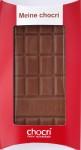 Chocri Milchschokolade zum Selbermachen, Rückseite
