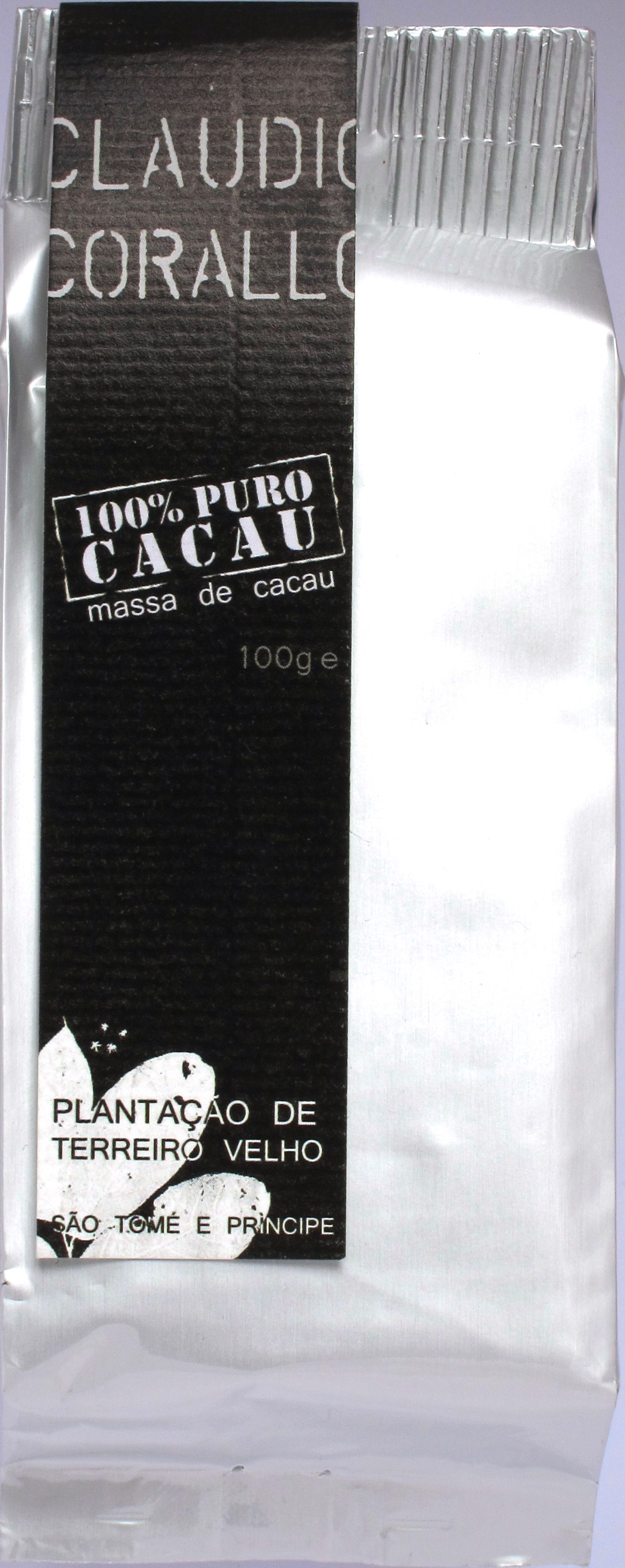 Corallo, 100%-Schokolade