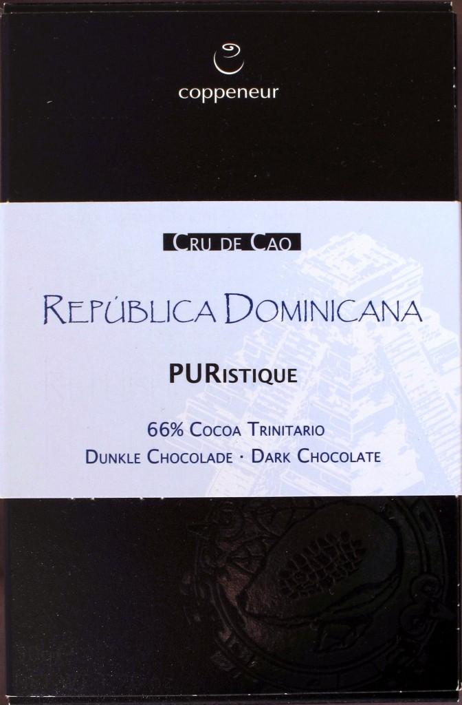 Coppeneur Dominica 66% von vorne