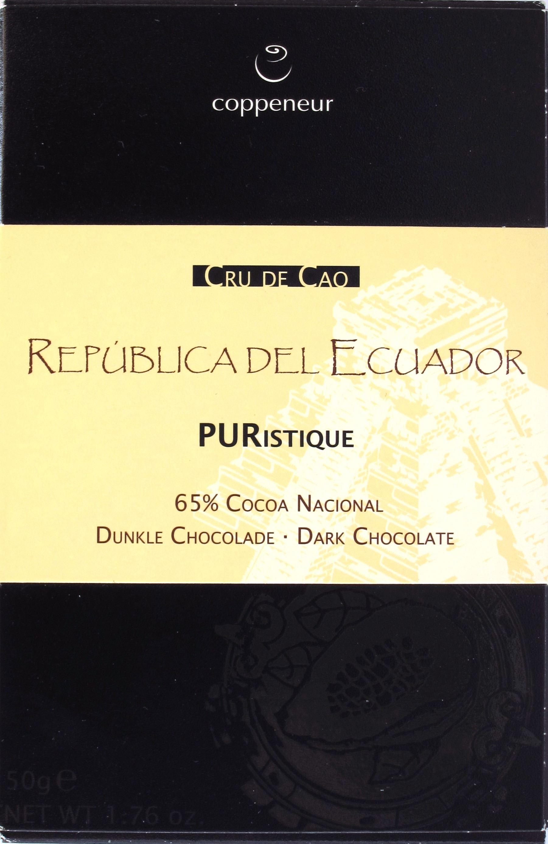 Coppeneur, Ecuador, 65%