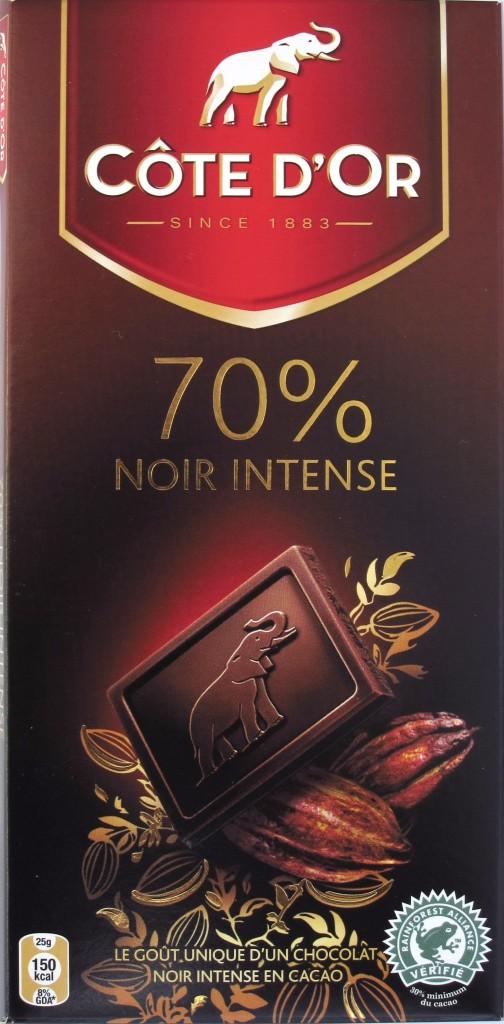 """70% Zartbitterschokolade Côte d'Or """"Noir Intense"""""""