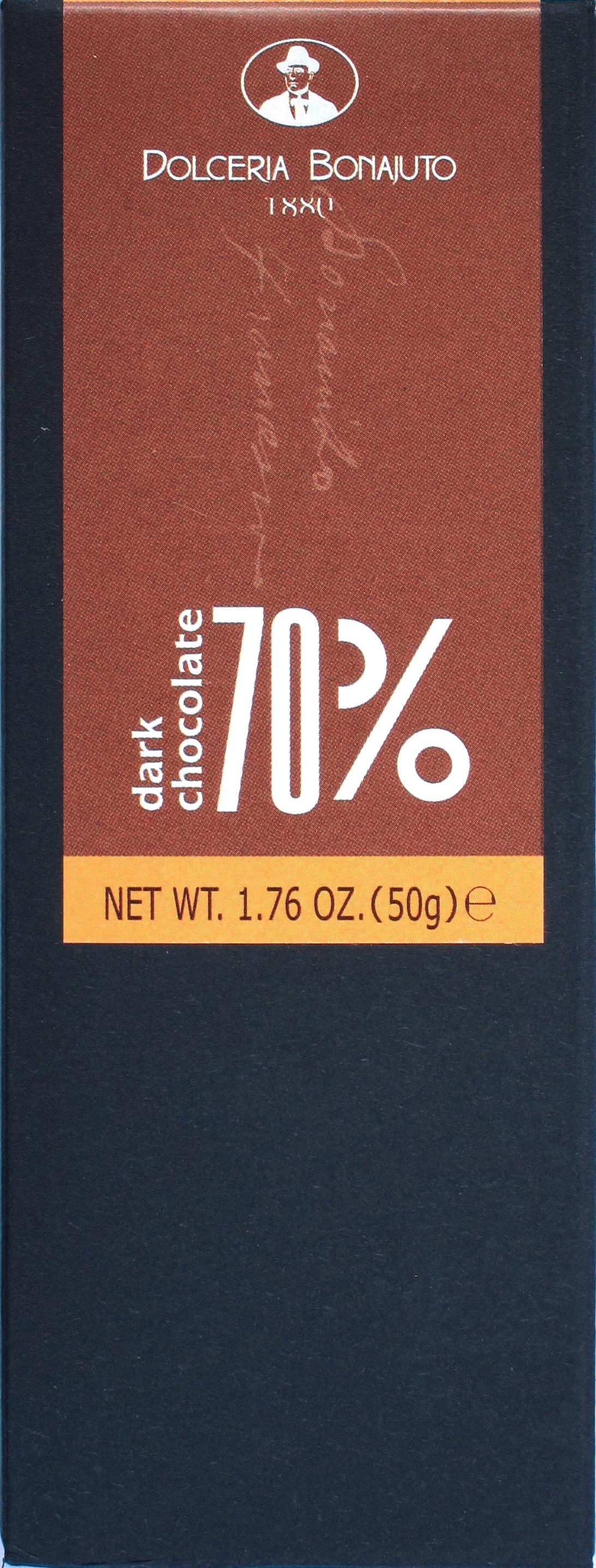Antica Dolceria Bonajuto, 70%-Bitterschokolade