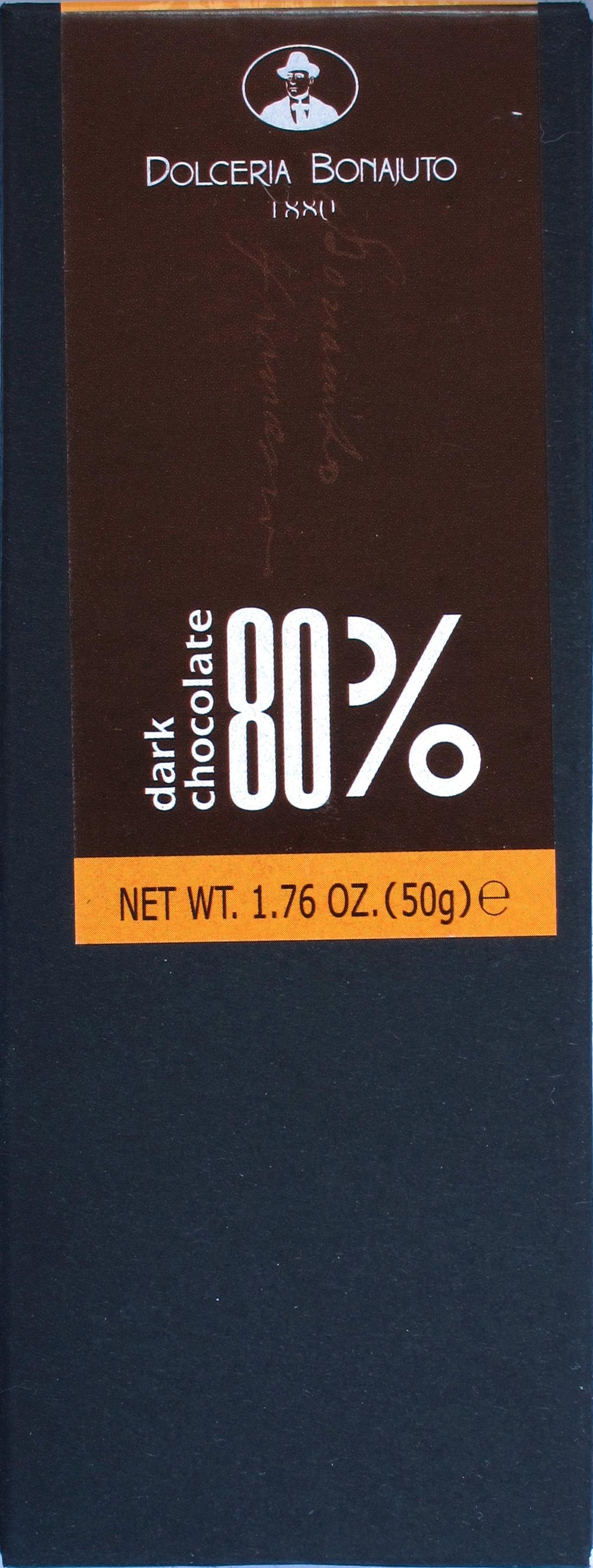 Antica Dolceria Bonajuto, 80%-Bitterschokolade