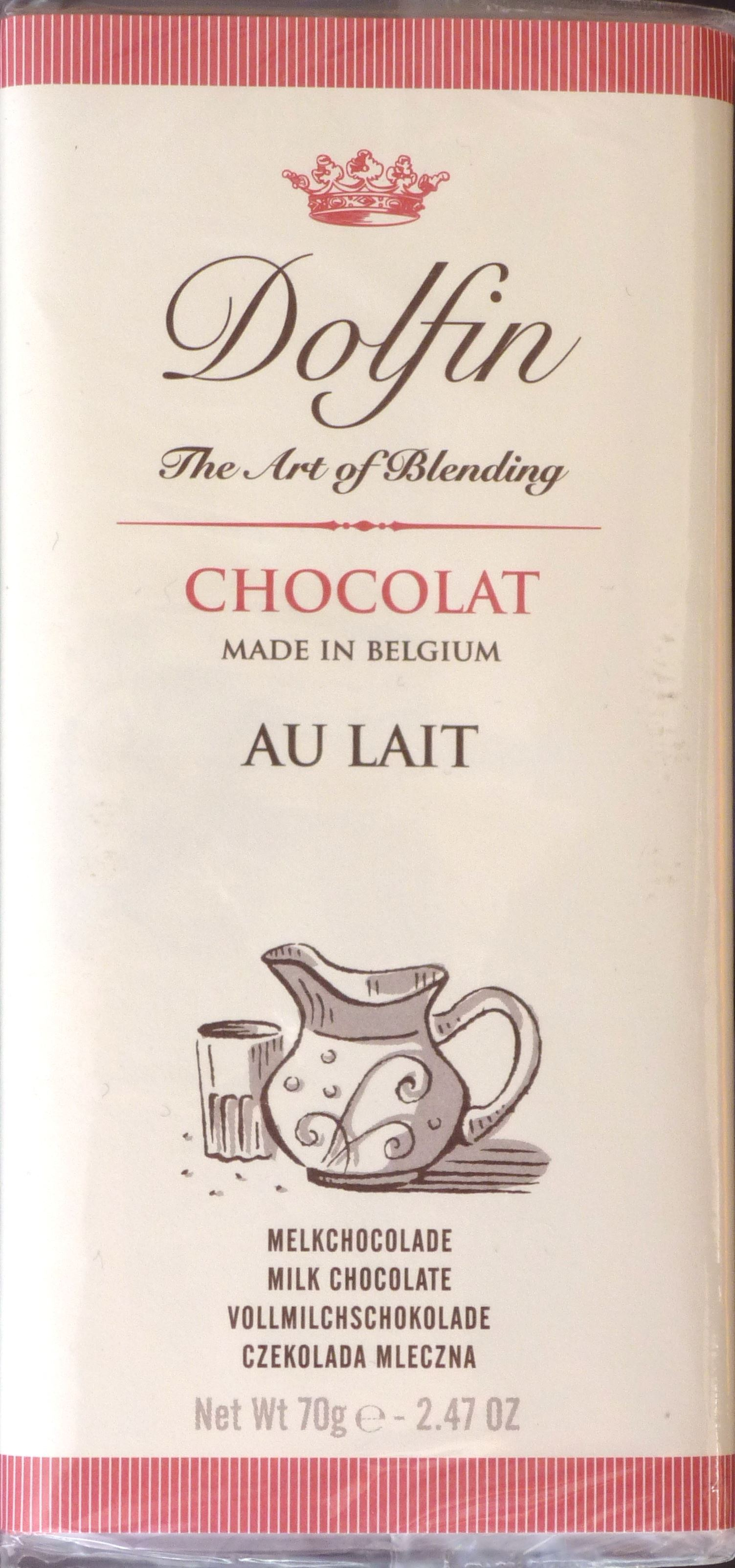 Packung Dolfin Chocolat au Lait