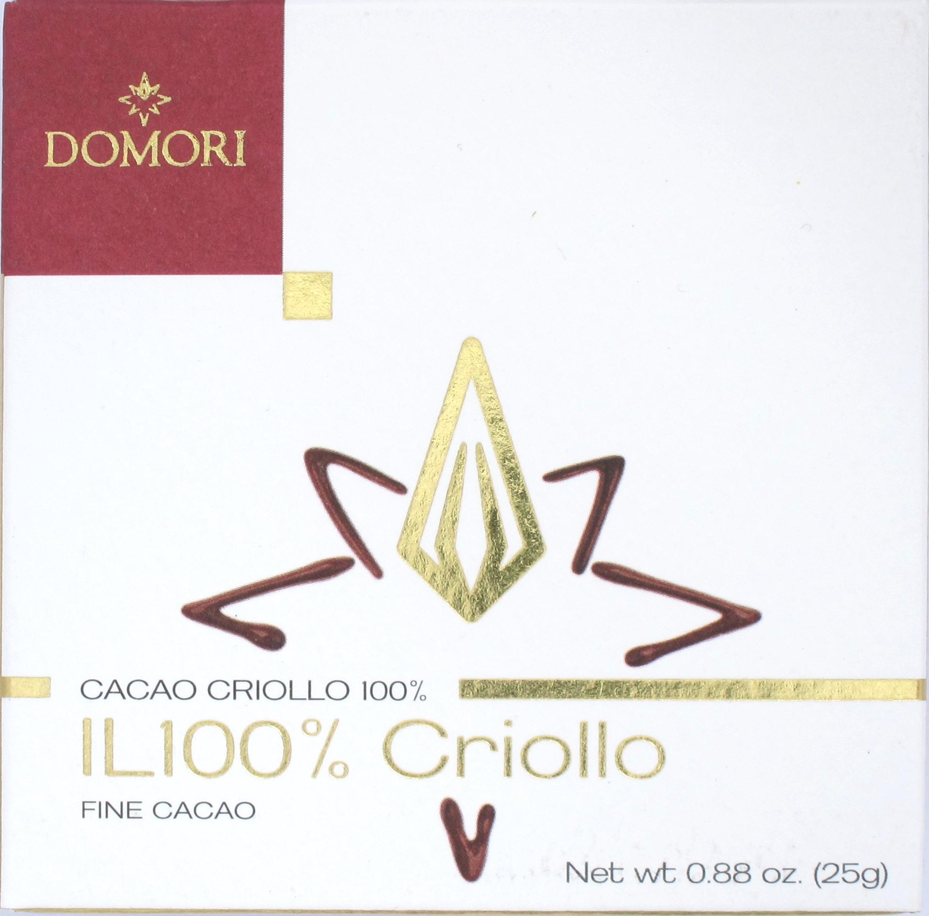 Tafel, Domori il 100% Criollo