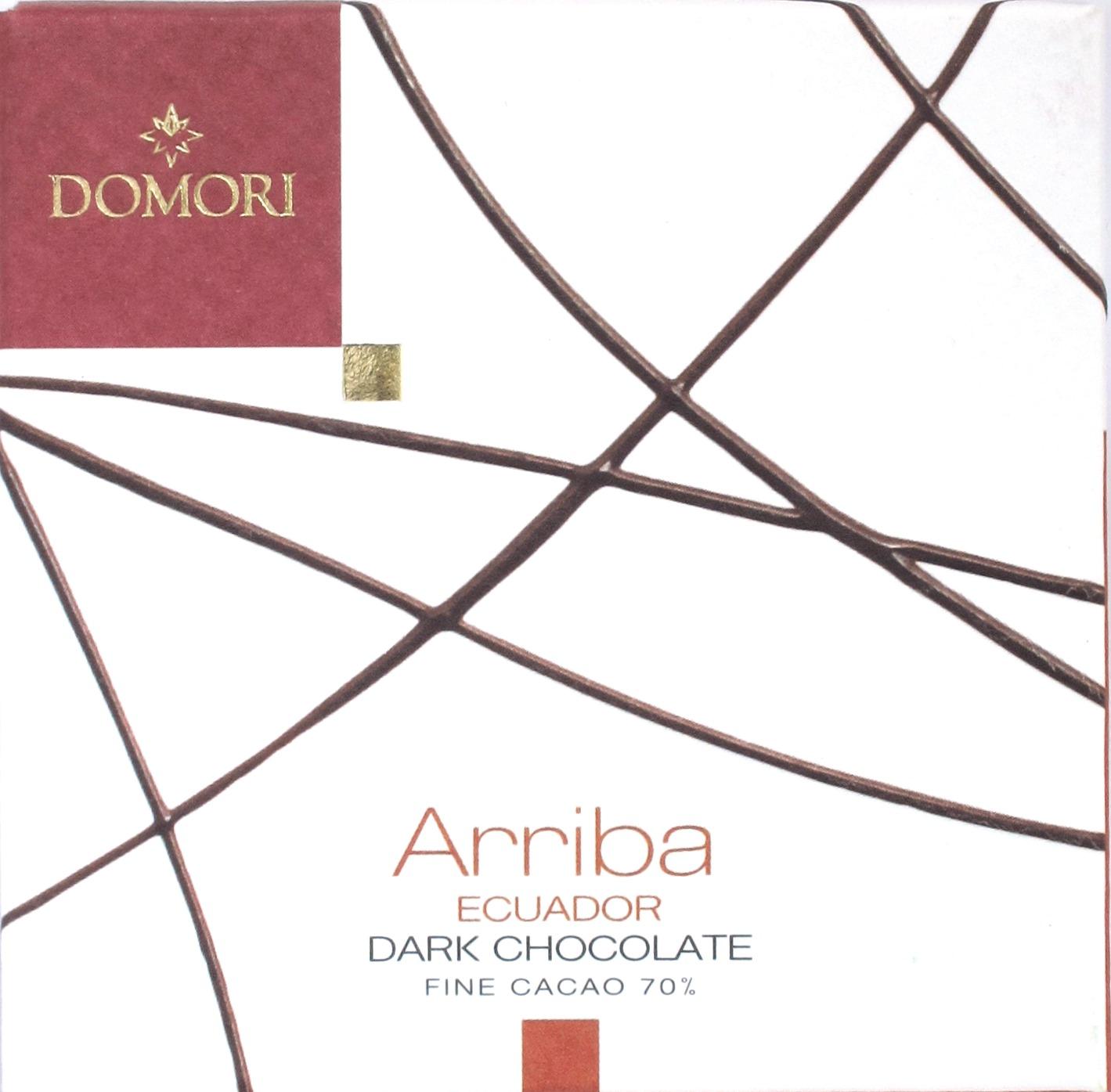 Domori Ecuador-Schokolade Arriba